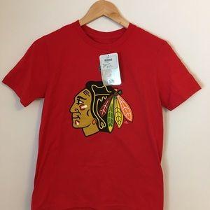 3 for $20 - NWT Reebok Jr Med Blackhawks T-Shirt